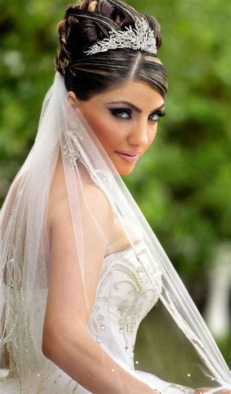 Wedding Hair For Veils by Wedding Hairstyle With Tiara