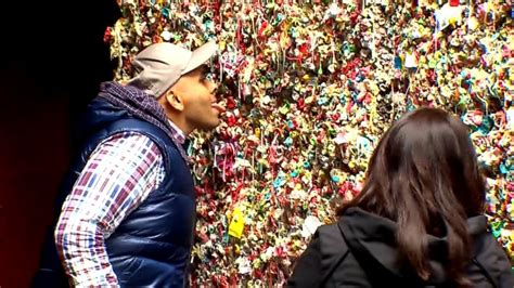 seattle gum wall is getting a scrubbing but the practice seattle to scrub gum wall clean video abc news