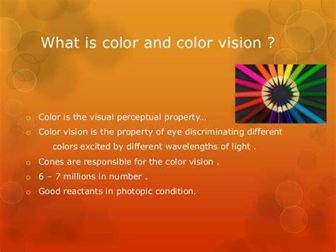 color vision color vision