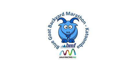 blue goats backyard marathon  katoomba nsw