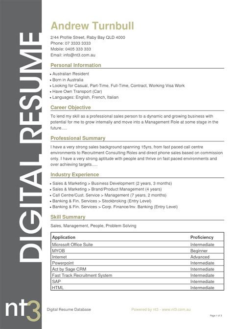 is a cv a resume in australia 28 images resume format
