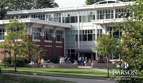 Is Babson Mba Any by Babson College S Olin Graduate School Of Business