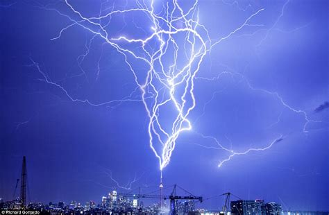 lightning map canada one in a million picture of a lightning strike captured