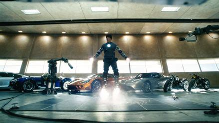 tony stark s home destroyed in super bowl spot represents movie stills iron man s super bowl pic canmag