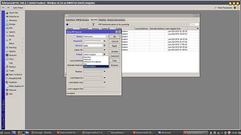 membuat vpn baru cara membuat vpn di mikrotik tutorial pelajaran tkj