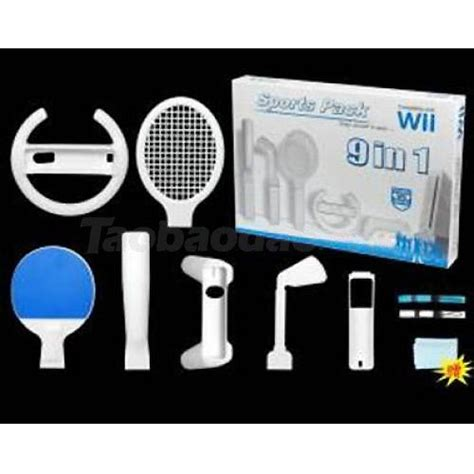 Wii Motion Plus Resort Accessory Pack 24 In 1 wii sports pack accessories wholesale digitopz