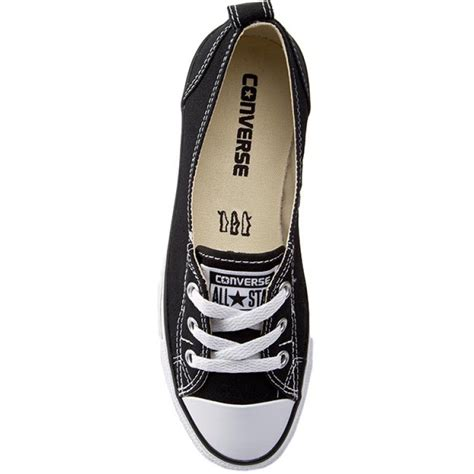 converse chuck all womens ballet lace slip shoe