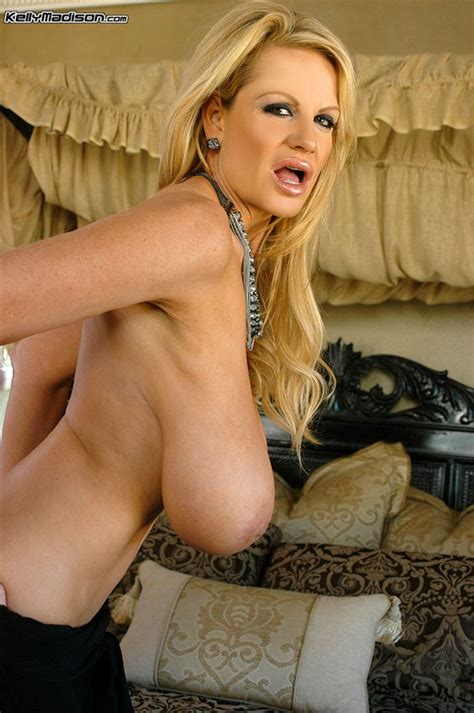 Pornstar Kelly Madison In Black Picture Of