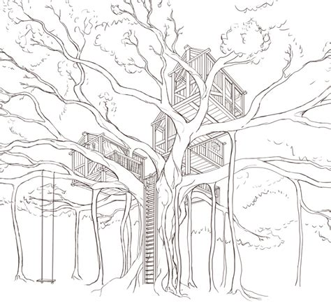 coloring pages of banyan tree coloring pages banyan