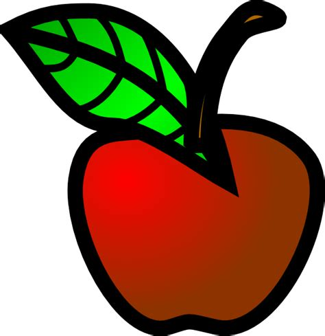Small Clipart small apple clip at clker vector clip