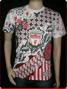 Kaos Bola Liverpool 05 contoh desain kaos batik hub 0819 3174 8006 grosir