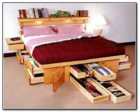 bed with storage space space saving beds with storage beds home design ideas