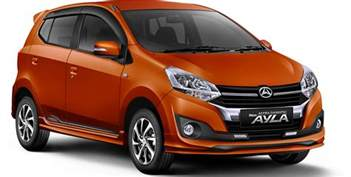 Daihatsu Alya 2017 Toyota Agya And Daihatsu Ayla Facelift Launched In