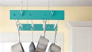 hanging pot rack ideas