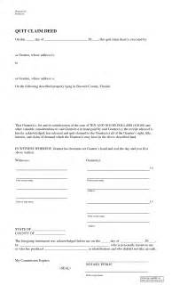 Florida Quit Claim Deed Form Template by Best Photos Of Fl Quit Claim Deed Blank Quit Claim Deed