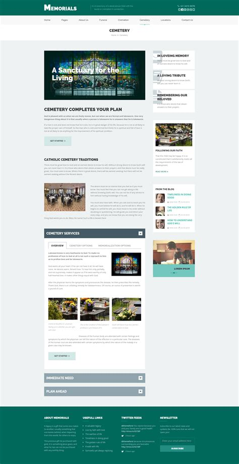 html5 template file memorials funeral cemeteries html5 template by