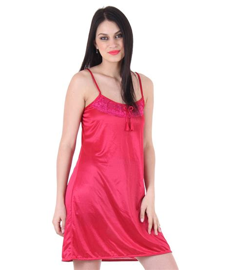 nighty dress with price unico wear pink satin nighty night gowns available at