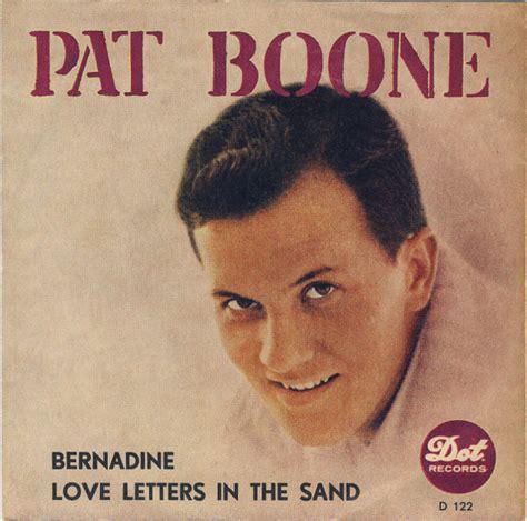 bernardine pat boone 45cat pat boone letters in the sand bernadine