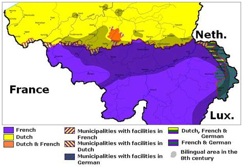 belgium language map brabant project retested for additional snp s