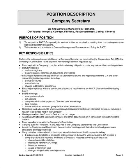 Resume Definition Sentence Company Description Exles