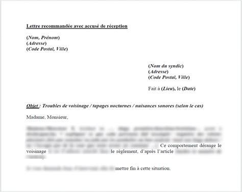 Exemple De Lettre Nuisance Sonore Epub Modele Lettre Nuisance Sonore Proprietaire