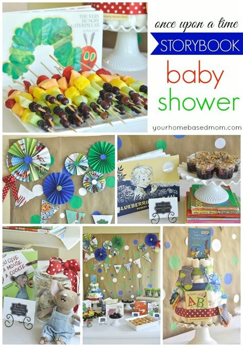 storybook baby shower theme storybook baby shower your homebased