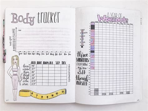 weight loss journal 5 free printable bullet journal weight loss pages the