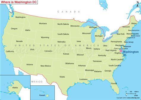 washington dc on us map washington dc map usa