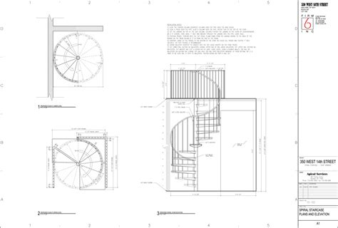 Spiral Staircase Floor Plan | spiral staircase for a duplex in chelsea juan carlos
