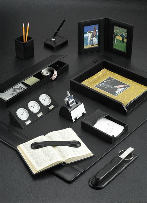 Leather Desk Blotter Sets Desk Blotter Set Leather Desk Desk Blotters And Accessories