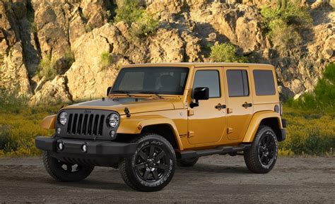 Jeep Unlimited Altitude Car And Driver