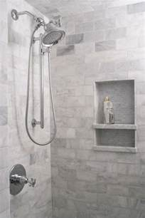 bathroom shower niche ideas tiled shower niche transitional bathroom