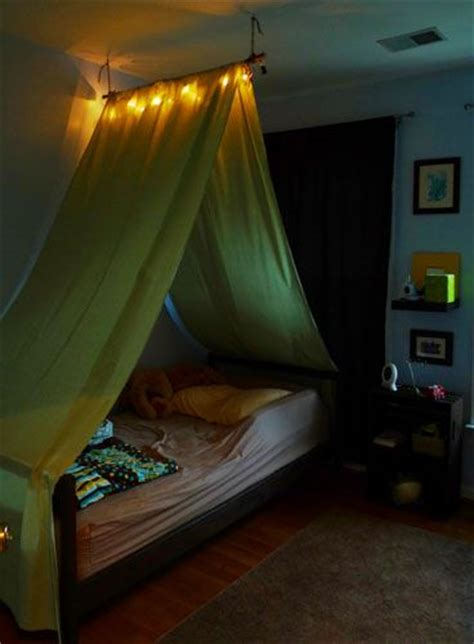tent over bed diy tent over the bed this is cool like the light gotta