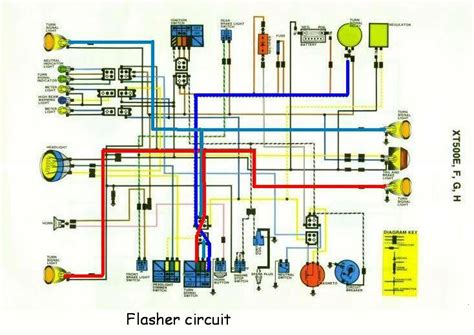 yamaha xt 500 cafe racer wiring diagrams wiring diagram
