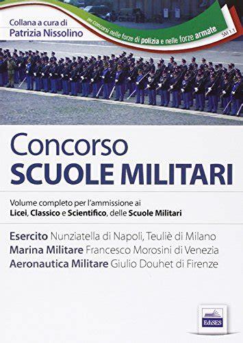 test psicoattitudinali esercito libro scuole militari esercito marina aeronautica test