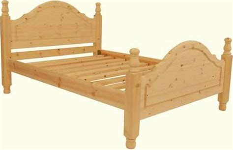 Handmade Pine Beds - handmade pine chelmer bed high end single