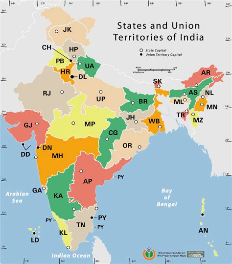 indian states india states by rto codes map maps of india