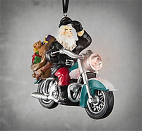 holiday decorations motorcyle christmas decorations