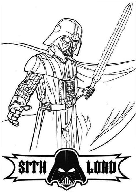 lego wars coloring pages darth vader darth vader coloring pages to and print for free