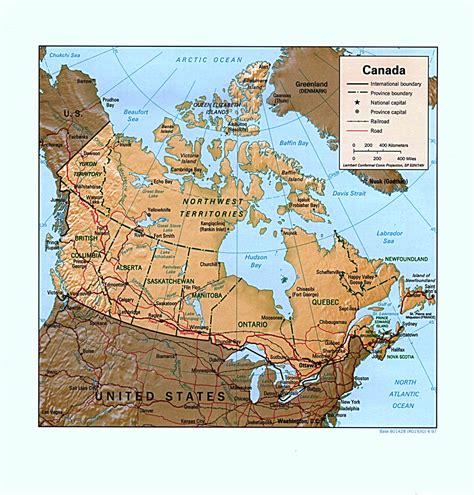 map of canada canada maps perry casta 241 eda map collection ut library