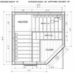 Sauna Floor Plans Sauna Floor Plan Valine