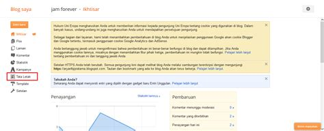 tutorial blogger blogspot tutorial teknis unair blog competition badan perencanaan