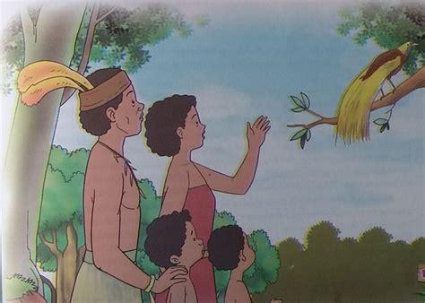 Legenda Dan Dongeng Nusantara Telaga Biru legenda dongeng rakyat papua barat rakyat