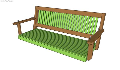porch swing plans free porch bench plans free garden plans how to build