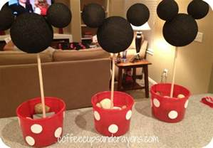 minnie mouse diy decorations how to make easy minnie mouse centerpieces