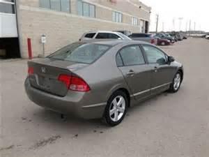 2008 honda civic lx winnipeg manitoba used car for sale