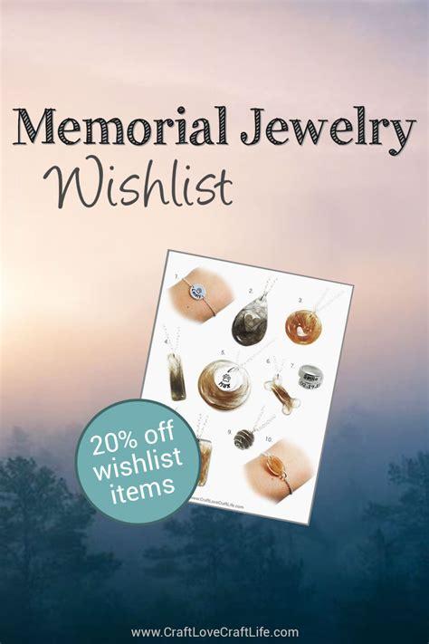 Top 10 Memorial Jewelry Wishlist   Discount Code   Pet