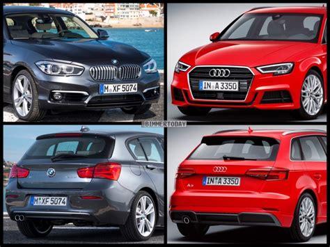 Bmw 1er Facelift Vergleich by Audi A3 Facelift 2016 Neuer Rivale F 252 R Den Bmw 1er F20 Lci