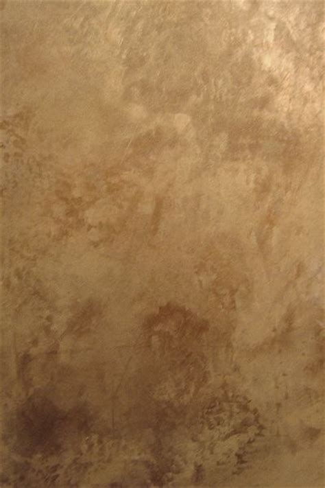 faux bronze paint copper abstract and brown on