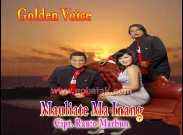 Mauliate Ma Amang Kaos Batak mauliate ma inang golden voice